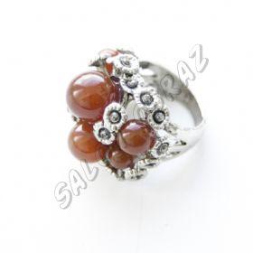 Кольцо сердолик КО-040