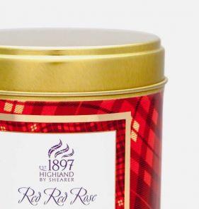 """Шотландская ароматическая свеча """"Red red Rose Алая Роза"""" в оловянной тубе"""