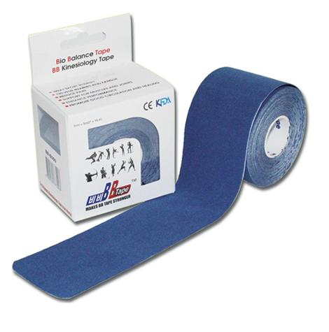 Кинезио тейп BBTape, синий (5 см х 5 м)