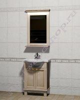 """Комплект мебели для ванной из дерева """"Челси-1 АЛЕКС-60 береза"""""""