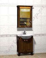 """Мебель для ванной комнаты фото """"Челси-2 УОРВИК-60R орех"""""""