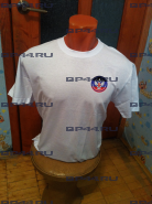 Футболка белая ДНР