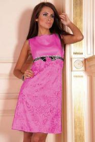 Коктейльное платье цвета фуксии