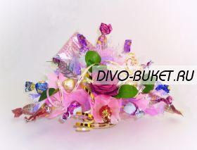 """Букет из конфет №343 """"Торжество"""""""