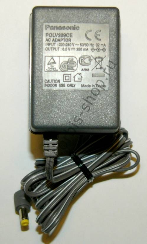 Сетевой адаптер Panasonic PQLV209CE