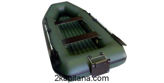 Надувная лодка Хантер 300 ЛТН с надувным дном