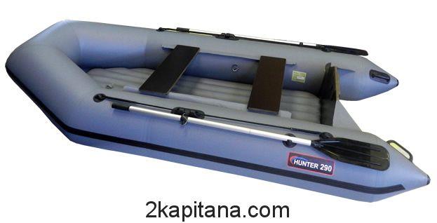 Надувная лодка Хантер Hunter 290 ЛН с надувным дном