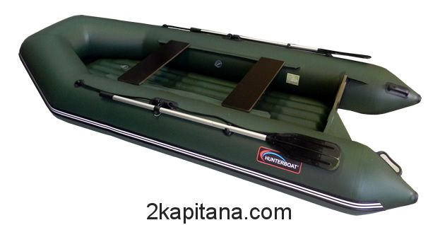 Надувная лодка Хантер Hunter 320 ЛН с надувным дном