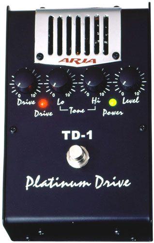 ARIA TD-1 PLATINUM DRIVE Ламповый дисторшн