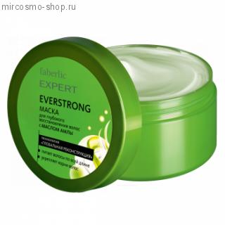 Маска для глубокого восстановления волос с МАСЛОМ АМЛЫ EVERSTRONG