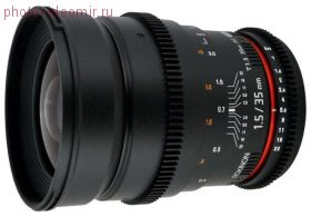 Объектив Samyang 35mm T1.5 ED AS UMC VDSLR Canon EF