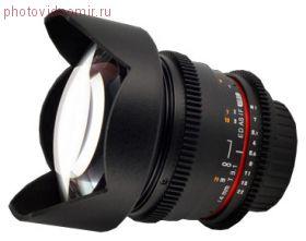 Объектив Samyang 14mm T3.1 ED AS IF UMC VDSLR Nikon F