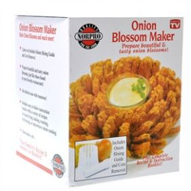 Приспособление Onion Blossom Maker оригинальное (для приготовления шикарных закусок из овощей и фруктов)