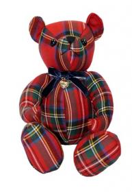 Шотландский тартановый (клетчатый) медведь Лорд Вильям  из клана Стюарт