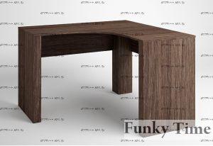 Стол угловой Фанки Тайм ФТ-10 (120х120х75)