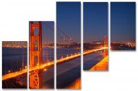 Модульные картины мосты