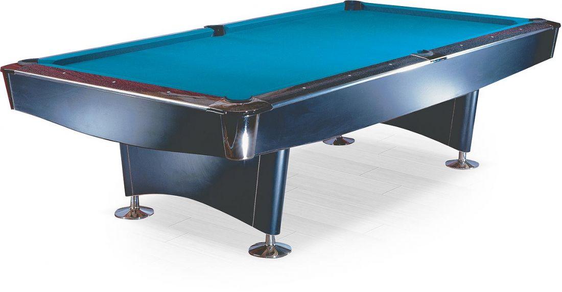 """Бильярдный стол / пул """"Reno"""" 8 ф (черный)"""
