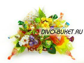 """Букет из конфет №342 """"Теремок подарков"""""""