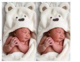 Полотенце с капюшоном для малышей
