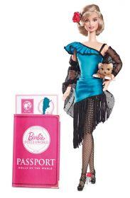 Кукла Барби Аргентина, серия Куклы мира, BARBIE