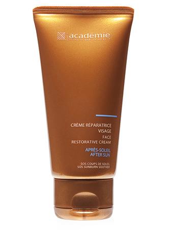 Academie Bronzecran Успокаивающий крем для лица