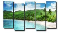 Модульная картина Пляж