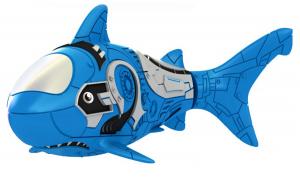 Роборыбка-акула (синяя)