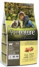 Pronature Holistic для котят, курица со сладким картофелем