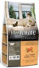 Pronature Holistic д/кошек беззерновой, утка с апельсином