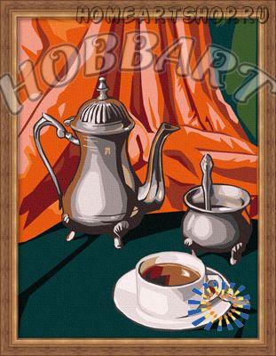 """Картина по номерам """"Натюрморты. Кофейная"""""""