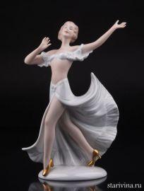 Танцующая девушка, Wallendorf, Германия