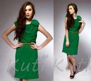 Зеленое платье Сhloe