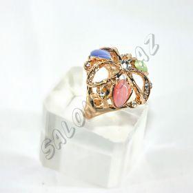 Кольцо  в форме цветка КО-060
