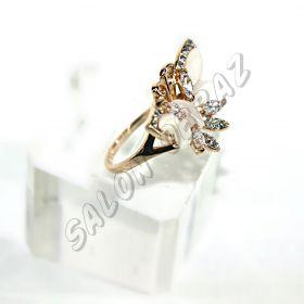 Кольцо в форме бабочки  КО-072