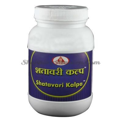 Шатавари Калпа женский тоник Шри Дхутапапешвар (Shree Dhootapapeshwar Shatavari Kalpa)