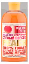 Пена для ванн спелый персик