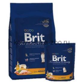 Brit Premium Cat Adult Chicken для взрослых кошек с курицей