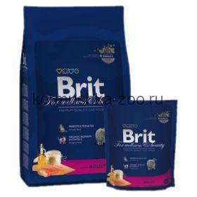 Brit Premium Cat Adult Salmon для взрослых кошек с лососем