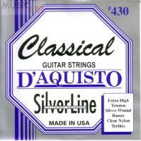D`Aquisto #430 Струны для классич. гитары (сверхвысокое натяжение)
