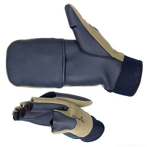 Купить Перчатки-варежки Norfin WINDPROOF отстегивающиеся 703056