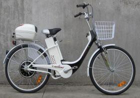 Электровелосипед E-motions Dacha (Дача) 350w 6 скоростей + корзина на руль + кофр на багажник