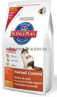 Hill`s SP Feline Hairball Control вывод шерсти