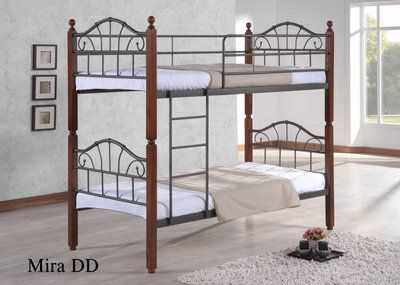 Кровать двухъярусная кованая Мира-DD Малайзия | RB