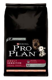 Pro Plan Sensitive для собак лосось/рис