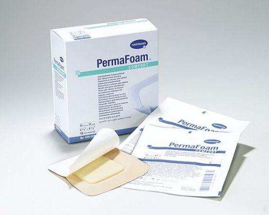 Повязка самоклеящаяся губчатая ПемаФом ( PermaFoam comfort ) ( 10*10 )