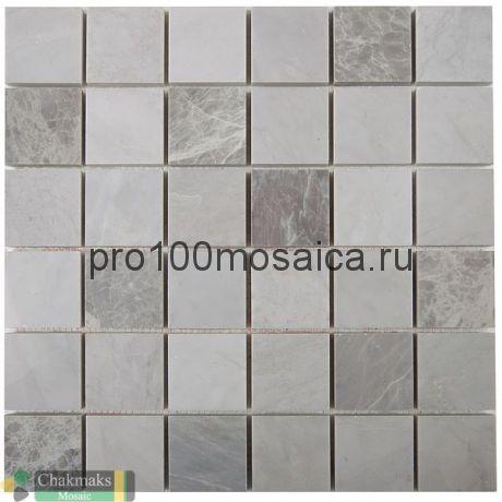 ICE NORDIC GREY 50х50. Мозаика Anatolian Stone, 318*318 мм (CHAKMAKS)