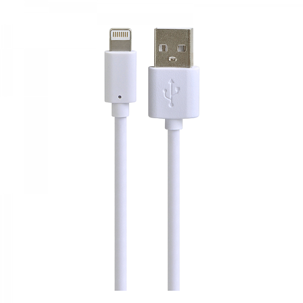 Кабель для iPad/iPhone/iPod HENCA USB data cable USB A to Lightning 1m, белый