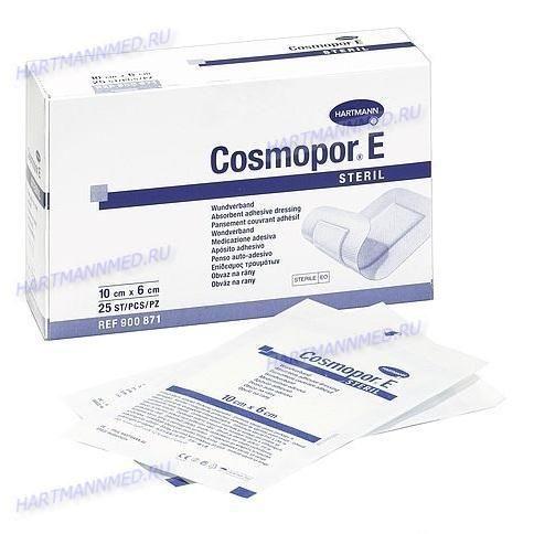 Cosmopor® E steril/ Космопор E стерил Самоклеящаяся повязка на рану 7*5 см