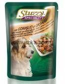 STUZZY SPECIALITY DOG консервы для собак с кроликом и овощами