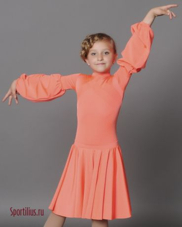 """Платье для бальных танцев """"Фонарик"""""""